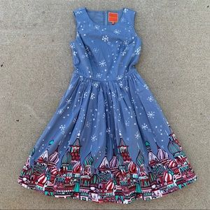 ModCloth Moscow Russian doll winter dress NWOT